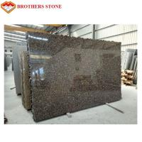 Quality Polished And Flamed Granite Stone Tiles , Natural Baltic Brown Granite for sale