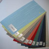 Colored Vertical fabric blinds patio doors Manufactures