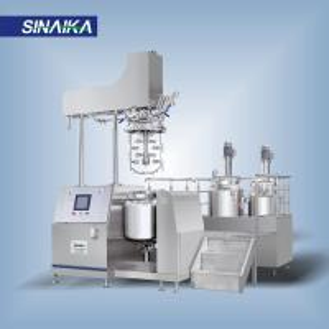 High shear skin care dispersing emulsifier homogenizer mxier machine Manufactures