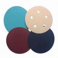 China Velcro Discs, Made of Aluminum Oxide/Silicone Carbide/Zirconia/WA on sale