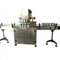 Automatic Canned frutis can seamer can capping machine,Automatic Machine packing Baby powder can seamer Manufactures