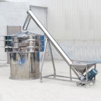 304  Stainless steel automatic screw conveyor packing machine grain auger feeder Manufactures