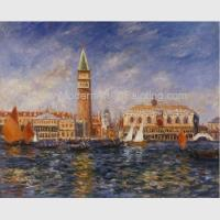 China Renoir Impressionist Paintings Art Reproductionon Canvas Doges Palace Venice on sale