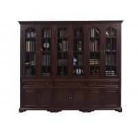 Home Office Study room furniture American style Big Bookcase Cabinet with Display chest can L shape for corner wall case Manufactures