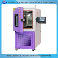 Professional touch screen Envirenmental Laboratory Equipment LED aging temperature humidity test machine Manufactures