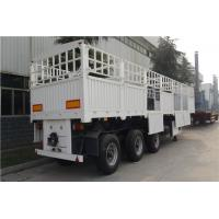 three axles 60ton 50t 40ft trailers and trucks fence semi trailer - CIMC Manufactures