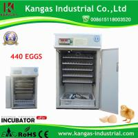 China KP-7 CE Approved Hold 440 Eggs Cheap Duck Egg Incubators for Sale on sale
