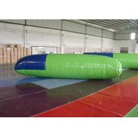 0.9mm PVC Inflatable Jumping Toys Blob Water Launcher With EN14960 Manufactures