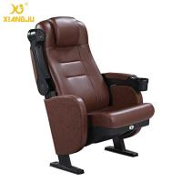 Great Lumbar Support Comfort Head Cushion Movie Theatre Chairs With Cupholder Manufactures