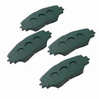 China High Performance Automotive Brake Pads Smooth Braking For The Safe Driving on sale