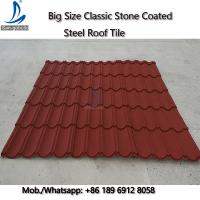 50-Years Warranty Classical Multi-Step Decras Stone Coated Roof Tiles Prices, Cheap Zinc Roof Tiles Zimbabwe Manufactures