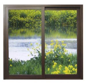 Smooth sandblasting mosquito net aluminum sliding windows for industrial building Manufactures