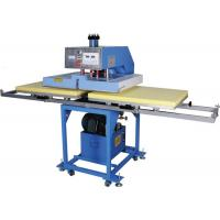 Hydraulic T Shirt Heat Transfer Machine Double Sided Printing Low Noise Manufactures