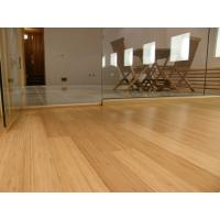 real High Gloss Horizontal or Vertical Solid Bamboo wood Flooring Manufactures