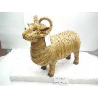 Handmade sheep,artificial crafts,holiday gifts and decoration ornaments,nature material made Manufactures