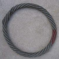 High Tension Endless Wire Rope Grommet With Galavnized Or Ungalvanized Manufactures