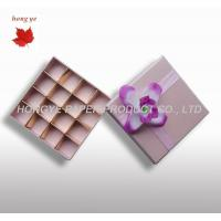 Cardboard Chocolate Packaging Boxes For Wedding Gift Decorative Manufactures