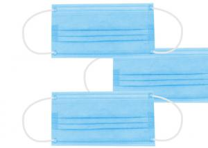 In Stock Non Woven Meltblown Fabric Disposable 3 Ply Earloop Mask Manufactures