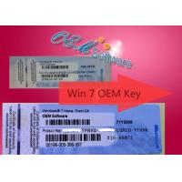 100% Online Activation Windows 7 Pro Oem Key , Win 7 Home Premium Product Key Manufactures