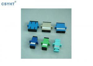 China Zirconia Sleeves FTTH SC UPC Fiber Optic Connectors With Flange on sale