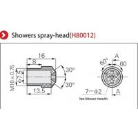 Premium Nozzle Ionizer Accessories High Performance Showers Spray Head Manufactures