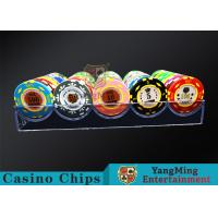 180g Acrylic Small Poker Chip Tray Insert Each Grid Can Placed 20 Pcs Chips Manufactures