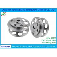 Aluminum CNC Turning Parts Milling Processing 100% inspection QC System Manufactures