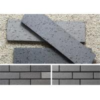 Outside Decorative Brick Veneer Wall Panels Clay Wall Building Material With Rough Surface