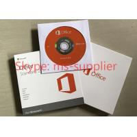 China Microsoft Office Standard 2016 Full Version DVD / CD Media Wndows Retail Box on sale