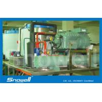 316ss Fishing Seawater Ice Machine On Boat 20t/day , R404A / R22 Refrigerant Manufactures