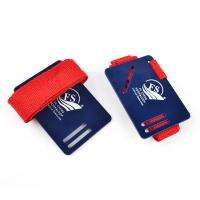 Nylon Webbing Straps Special New Design Red Webbing Book Straps with card Manufactures
