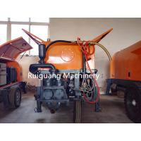 diesel cement mortar plaster sprayer/cement mortar spray pump with mixer Manufactures