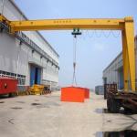 15 Ton 20 Ton Gantry Crane Easy Maintenance Single Girder Heavy Duty Manufactures