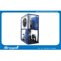 China 1 Ton Capacity Refrigerant Industrial Tube Ice Machines , Condensor Capacity 15kw on sale