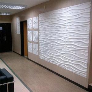 Fiber cement board in three-dimensional design Manufactures