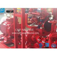 UL FM Approved Electric Motor Driven Fire Pump With Split Case Fire Pump 500USGPM / 10 Bar Manufactures
