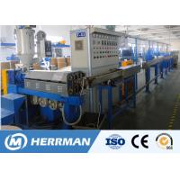 China 1000m / Min Line Speed Pvc Cable Extruder Machine For 1.5-16mm2 WIth PLC Control on sale