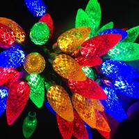 Strawberry Christmas lights for party Manufactures