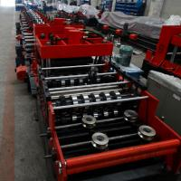 15KW Z & C Purlin Roll Forming Machine With Hydraulic / Manual Decoiler and Siemens PLC Automatic Control Whole Line Manufactures