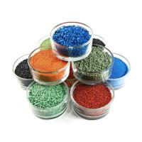 Shock Resistant Recycled Rubber Pellets Colorful For Senior Citizen Activity Area Manufactures