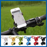 Black Metal Handlebar Phone Accessory Mount Holder For Motorcycle Bicycle Manufactures