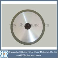 Changsha China manufacturer 6A2 cup vitrified diamond grinding wheel for pcd