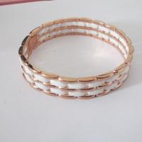 Cheap Wholesale Jewelry Rose Gold Fashion Ceramic Bracelets for Women Manufactures