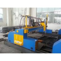China High Precision CNC Flame and Plasma Cutting Machine Easy Operate by Imported Spain FAGOR Control System on sale