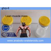 China 99% White Powder GHRP-6 / Ghrp-6 Peptide 2mg/vial 5mg/vial For Lean Muscle Mass CAS 87616-84-0 on sale