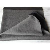 Customized Double Faced Wool Coating Fabric Different Color Windproof In Stock Manufactures
