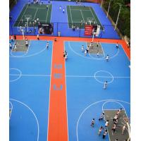 China AOV EPDM Rubber Flooring , Colored Tennis Court Rubber Flooring on sale
