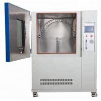 China Programmable IPX3 / IPX4 Rain Spray Chamber / Waterproof Oscillating Tube Spray Tester for sale