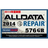 576G Auto Diagnostics Software HDD For Alldata Mitchell Autodata Sofware 2014Version Manufactures