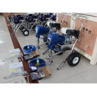 Gas Powered Airless Finish Paint Sprayer For Heavy Project With Piston Pump PT8900 Manufactures
